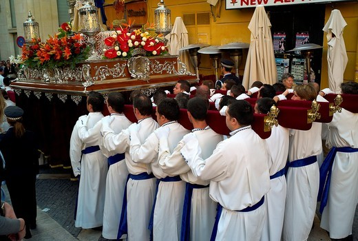 -Holy Week in Alicante- Valencian Comunity in Spain. : Stock Photo