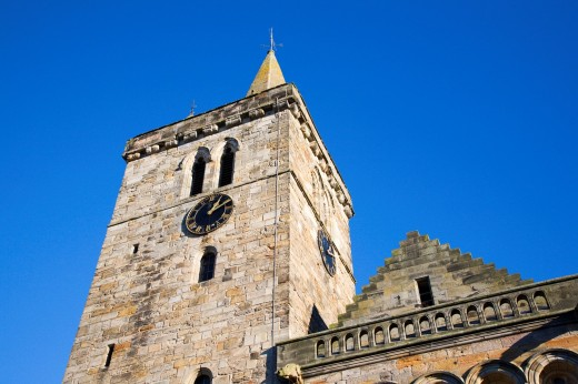 Stock Photo: 1566-751762 Parish Church of The Holy Trinity St Andrews Fife Scotland