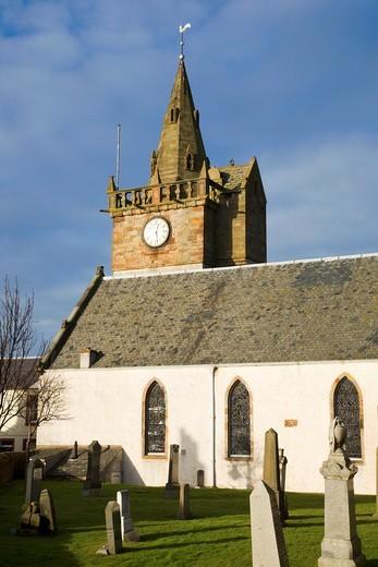 Stock Photo: 1566-751808 Parish Church Pittenweem Fife Scotland