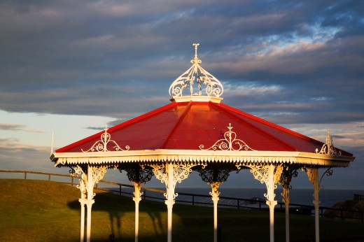 Stock Photo: 1566-751820 Bandstand on The Butts St Andrews Fife Scotland
