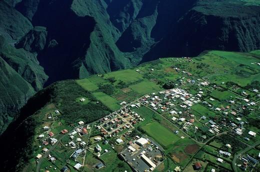 Stock Photo: 1566-754863 Cilaos, Reunion island, overseas departement of France, Indian Ocean