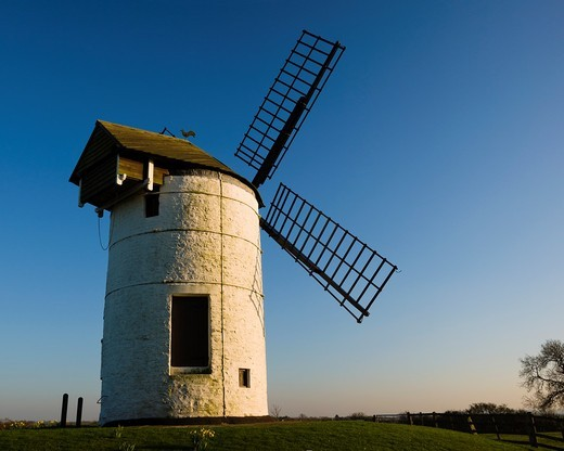 Ashton Windmill at Chapel Allerton, Somerset, England, United Kingdom : Stock Photo