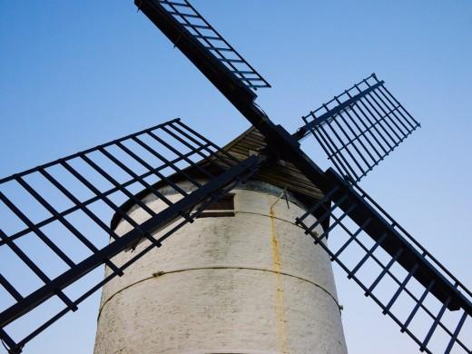 Stock Photo: 1566-755616 Ashton Windmill at Chapel Allerton, Somerset, England, United Kingdom