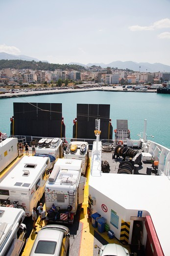 ferry-boat, piraeus, athens, greece, europe : Stock Photo
