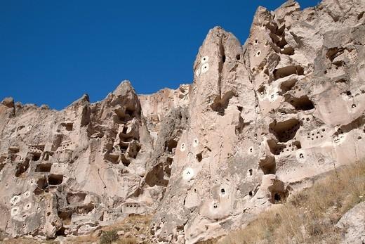 soganli valley, landscape, cappadocia, anatolia, turkey, asia : Stock Photo
