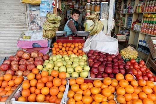 Stock Photo: 1566-758606 Daily life on the market in Kunduz