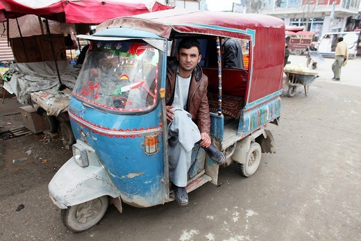 Daily life on the market in Kunduz : Stock Photo