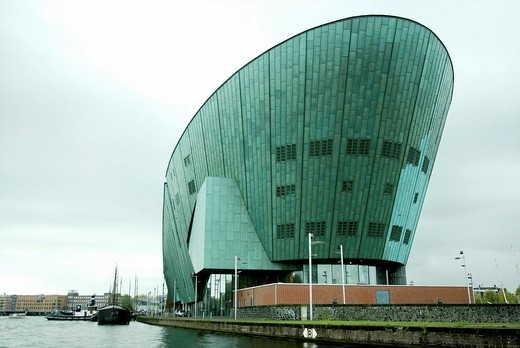 Nemo museum in Amsterdam : Stock Photo