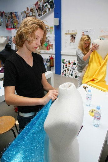 Stock Photo: 1566-759409 fashion camp in The Netherlands