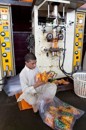 Stock Photo: 1566-759484 popcorn factory in herat, Afghanistan