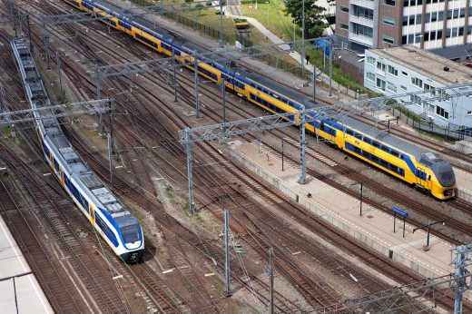 Stock Photo: 1566-760137 Amsterdam train station