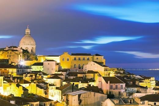 Alfama, Lisbon, Portugal, Europe : Stock Photo