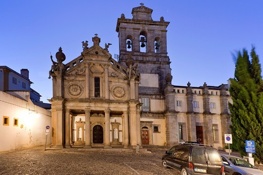 Graça Church, Evora, Portugal, Europe : Stock Photo
