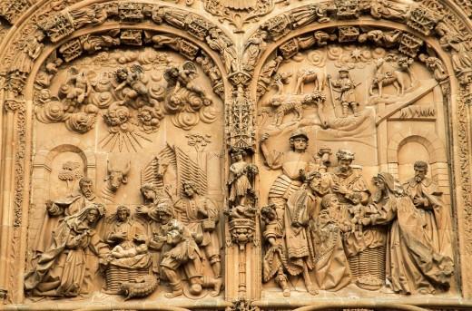 New Cathedral of Salamanca, Salamanca, Spain : Stock Photo