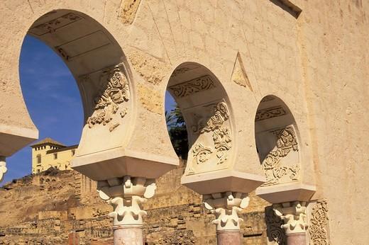 Stock Photo: 1566-765043 Mauresque remains of Medina Azahara, Córdoba, Spain