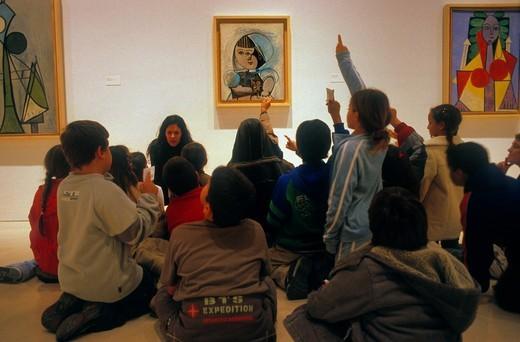 Stock Photo: 1566-766505 Málaga Andalusia  Spain: Picasso Museum in Palacio de los Condes de Buenavista  Hall VII  In 8 San Agustin street