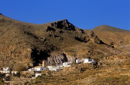 Huebro, Almeria province, Andalucia, Spain : Stock Photo