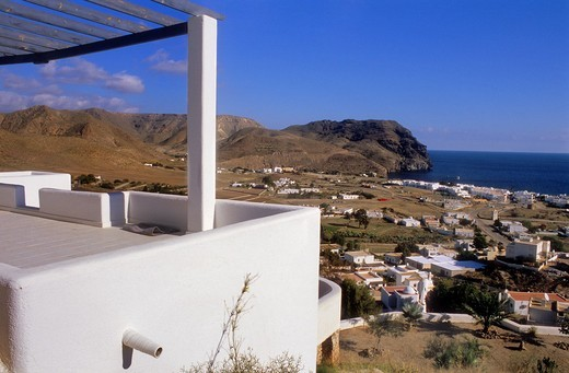 Las Negras Cabo de Gata-Nijar Natural Park  Biosphere Reserve, Almeria province, Andalucia, Spain : Stock Photo