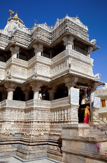 Jagdish Temple,Udaipur, Rajasthan, india : Stock Photo