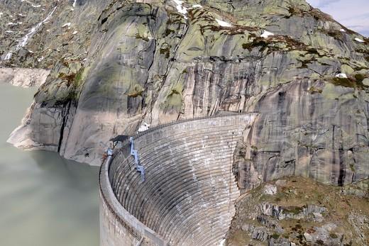 Dam, Grimsel pass,Switzerland : Stock Photo