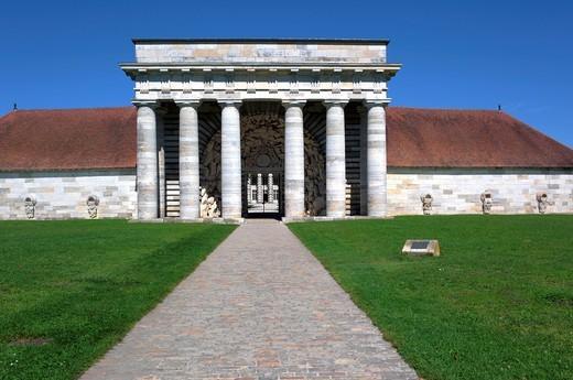 Saline Royale Royal Saltworks, architect Claude Nicolas Ledoux 1770s, Arc et Senans, Franche Comte, France : Stock Photo