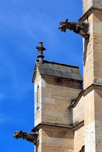 Notre Dame cathedral, Beaune, Cote d´Or department, Burgundy, France : Stock Photo