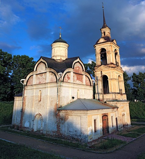 Church of St  Isidor 1566, Rostov, Yaroslavl region, Russia : Stock Photo