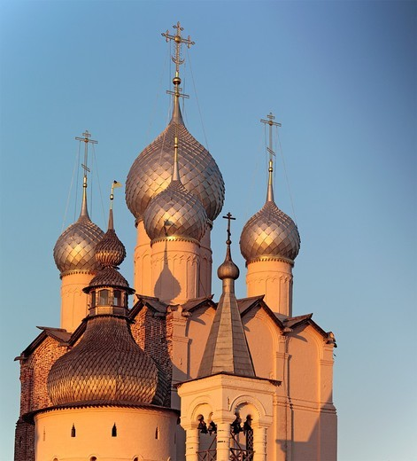 Stock Photo: 1566-771198 Church of Resurrection 1670, Rostov, Yaroslavl region, Russia