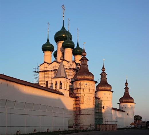 Rostov, Yaroslavl region, Russia : Stock Photo