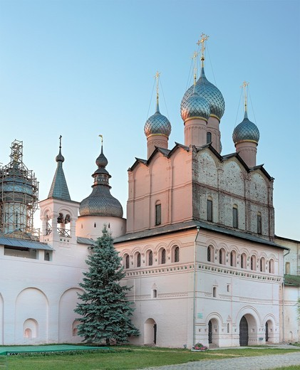 Church of Resurrection 1670, Rostov, Yaroslavl region, Russia : Stock Photo