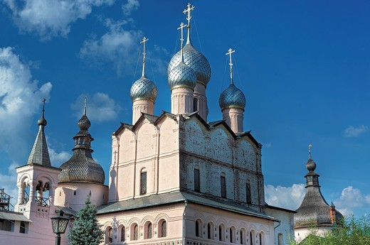 Stock Photo: 1566-771215 Church of Resurrection 1670, Rostov, Yaroslavl region, Russia