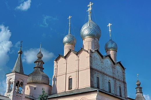 Church of Resurrection 1670, Rostov, Yaroslavl region, Russia : Stock Photo