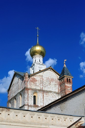 Church of Saviour 1675, Rostov, Yaroslavl region, Russia : Stock Photo
