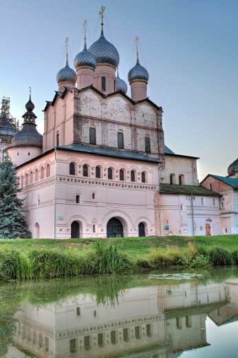 Stock Photo: 1566-771232 Church of Resurrection 1670, Rostov, Yaroslavl region, Russia