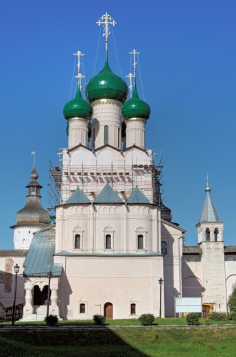 Church of St  John the Theologian 1683, Rostov, Yaroslavl region, Russia : Stock Photo
