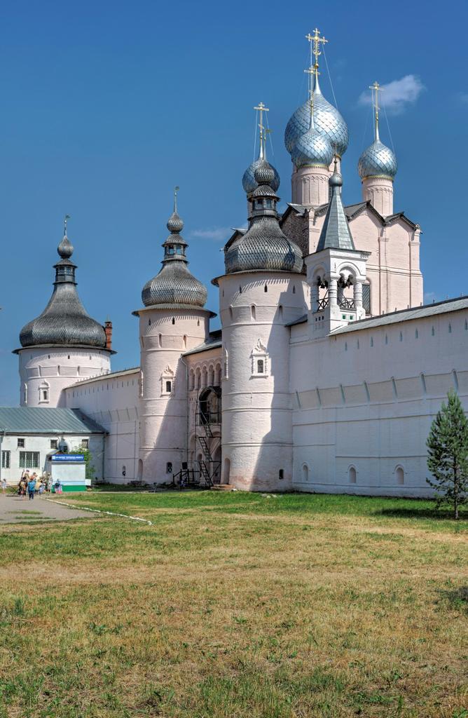 Stock Photo: 1566-771262 Rostov Kremlin, Rostov, Yaroslavl region, Russia