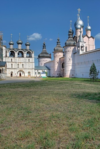 Stock Photo: 1566-771263 Rostov Kremlin, Rostov, Yaroslavl region, Russia