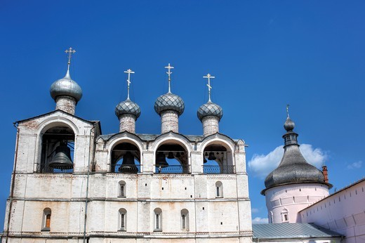 Belfry, Rostov, Yaroslavl region, Russia : Stock Photo