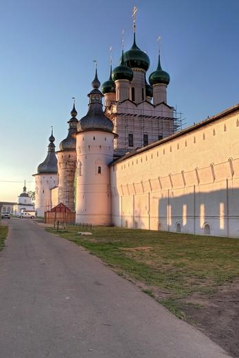Rostov Kremlin, Rostov, Yaroslavl region, Russia : Stock Photo