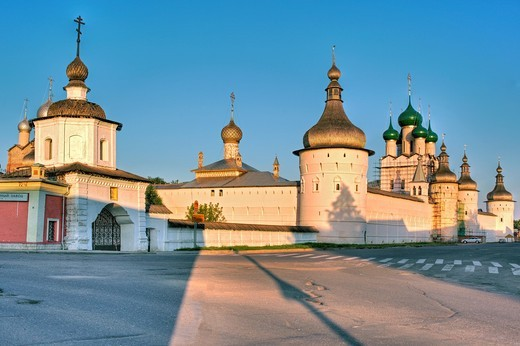 Stock Photo: 1566-771278 Rostov Kremlin, Rostov, Yaroslavl region, Russia