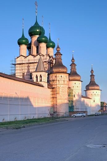 Stock Photo: 1566-771281 Rostov Kremlin, Rostov, Yaroslavl region, Russia