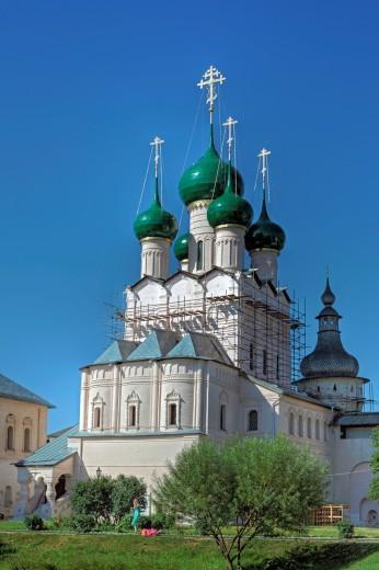 Church of St  John the Theologian 1683, Rostov, Yaroslavl region, Russia : Stock Photo