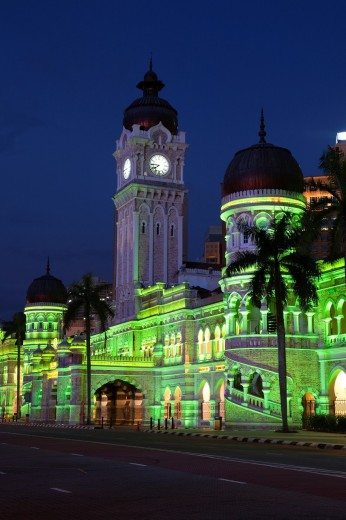 Stock Photo: 1566-772035 Sultan Abdul Samad Building, Kuala Lumpur