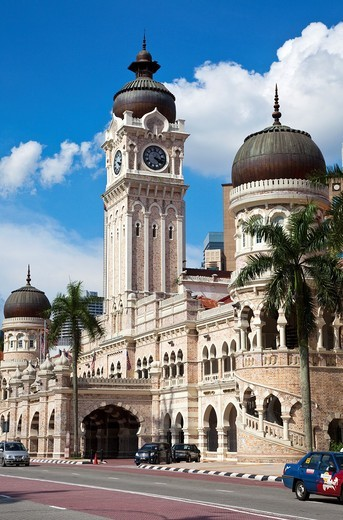 Sultan Abdul Samad Building, Kuala Lumpur : Stock Photo