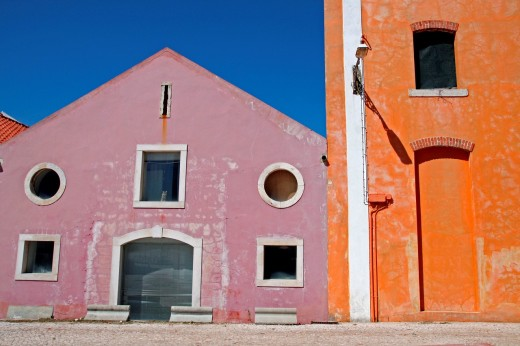 stores, Belem, Lisbon, Portugal : Stock Photo