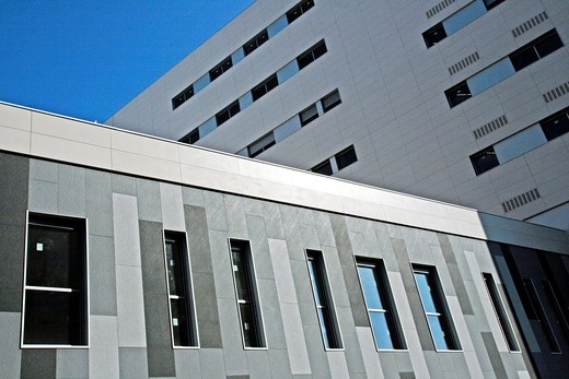 Hospital Sant Joan de Deu Numancia, Barcelona, Catalonia, Spain : Stock Photo