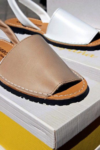 Menorcan´s sandals : Stock Photo