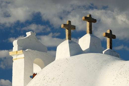 Stock Photo: 1566-777204 Church. Barbacena. Alentejo. Portugal