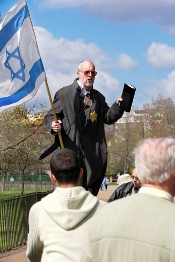 Speakers Corner in Hyde Park, London, England : Stock Photo