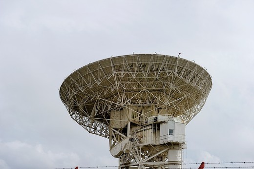Large communication satellite dish : Stock Photo